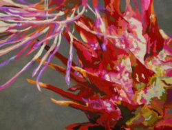 Wild Artichoke IV by Paula Chung