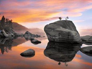 Lake Tahoe Art Elizabeth Carmel