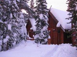 Lost Trail Lodge ski in ski out
