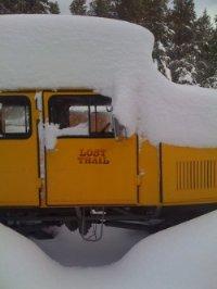 Lost Trail Lodge snowbound