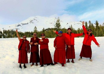 Tiben Monks at Mt. Shasta